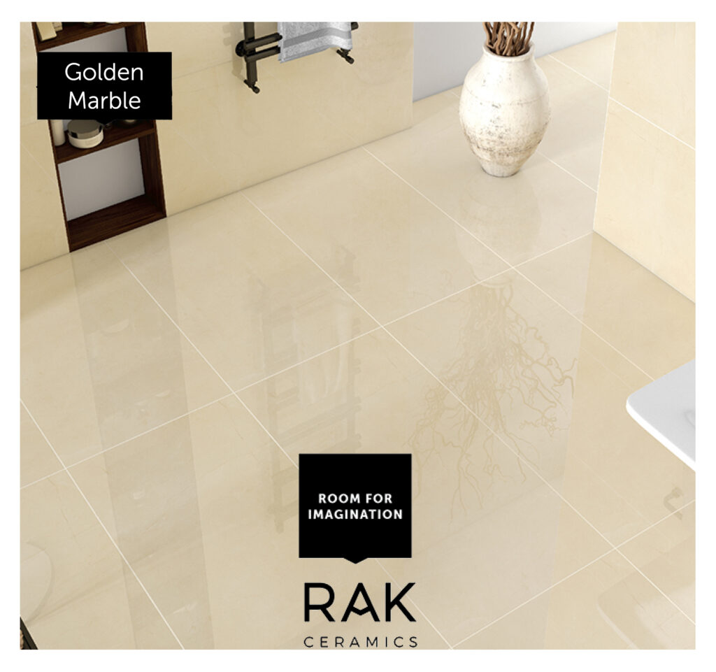Golden Marble 1024x961 - سرامیک کرم : رنگ کرم در انتخاب سرامیک واحد های تجاری و مسکونی