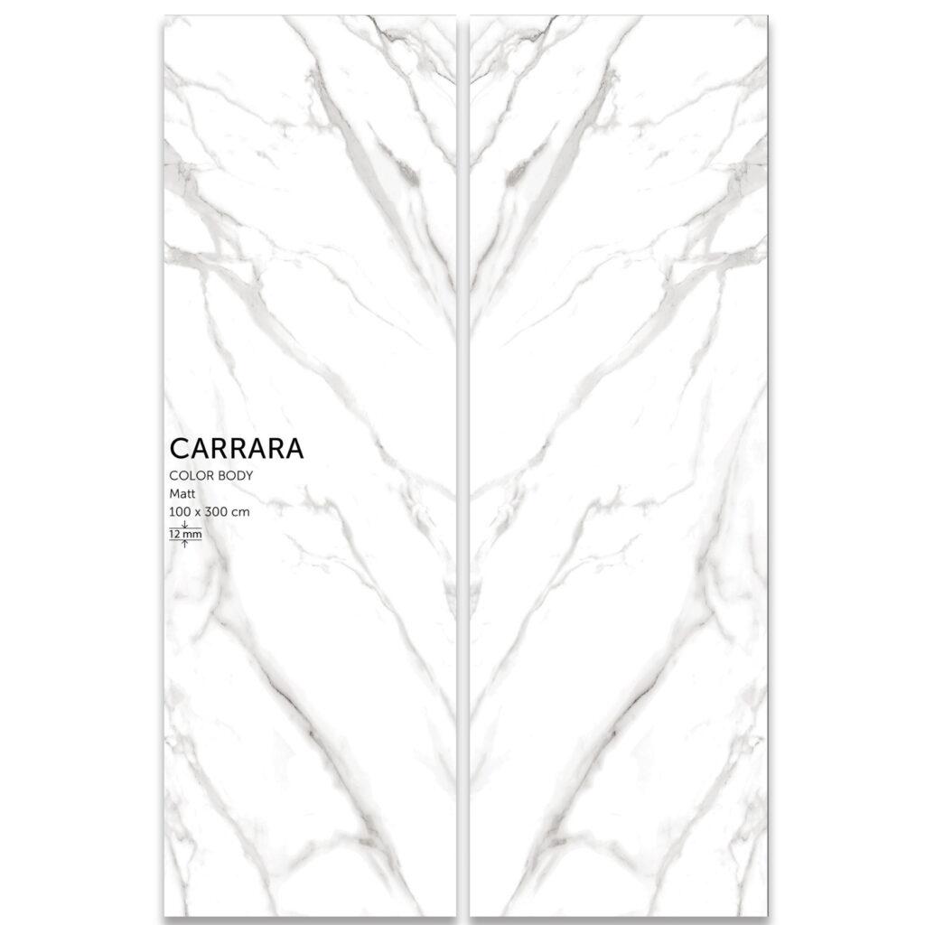 اسلب سرامیک Carrara | کلکته رگه طوسی | سایز100در300 | زیگما