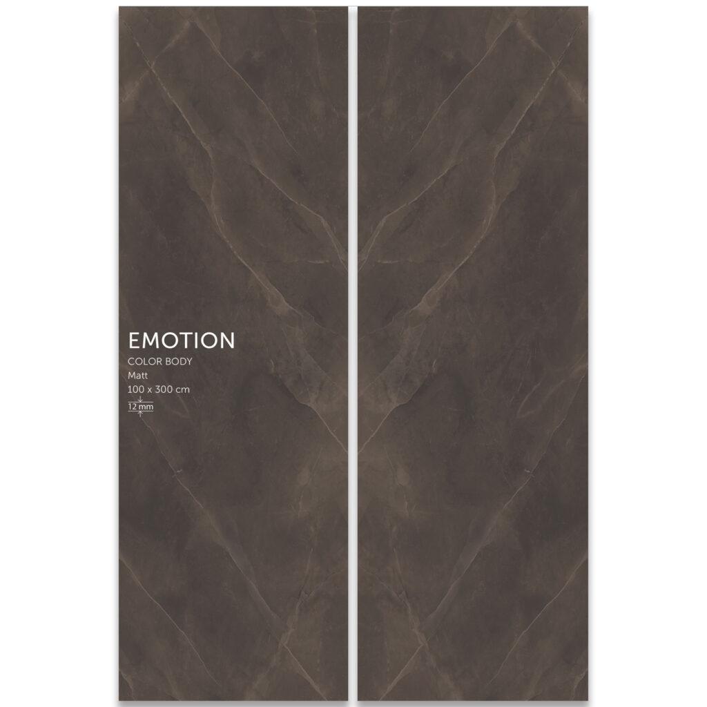 اسلب بوک مچ مات | سرامیک | Emotion Gray | سایز100در300 | پرسلان | زیگما