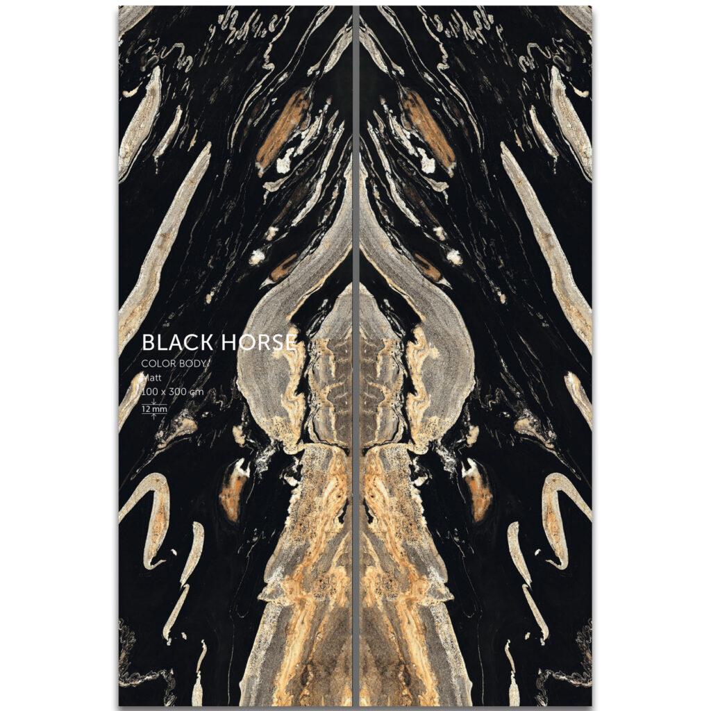 اسلب سرامیک | Black Horse | بدنه مشکی |zigma surface