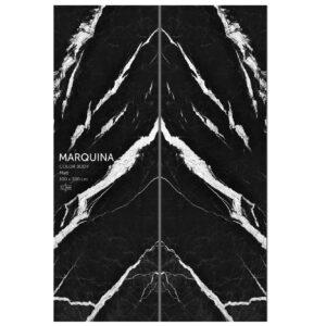 slab marquina 300x300 - اسلب سرامیک بوک مچ | 100در300 | مشکی رگه دار | کالر بادی | marquina | زیگما